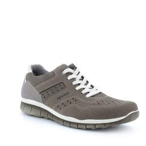 Scarpa in pelle grigio scuro IGI&CO