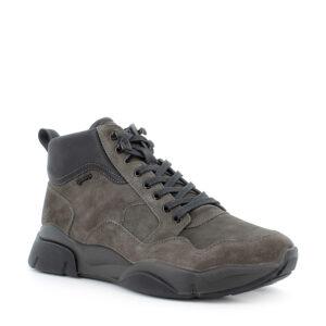 Sneaker in scamosciato grigio scuro\IGI&CO