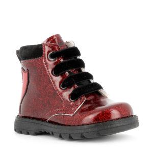 Anfibio in vernice glitter rosso- Primigi