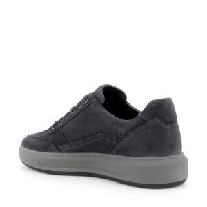 Sneaker in pelle blu\IGI&CO