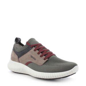 Sneakers Scarpe Uomo Casual in Pelle Verde Memory Foam\IGI&CO